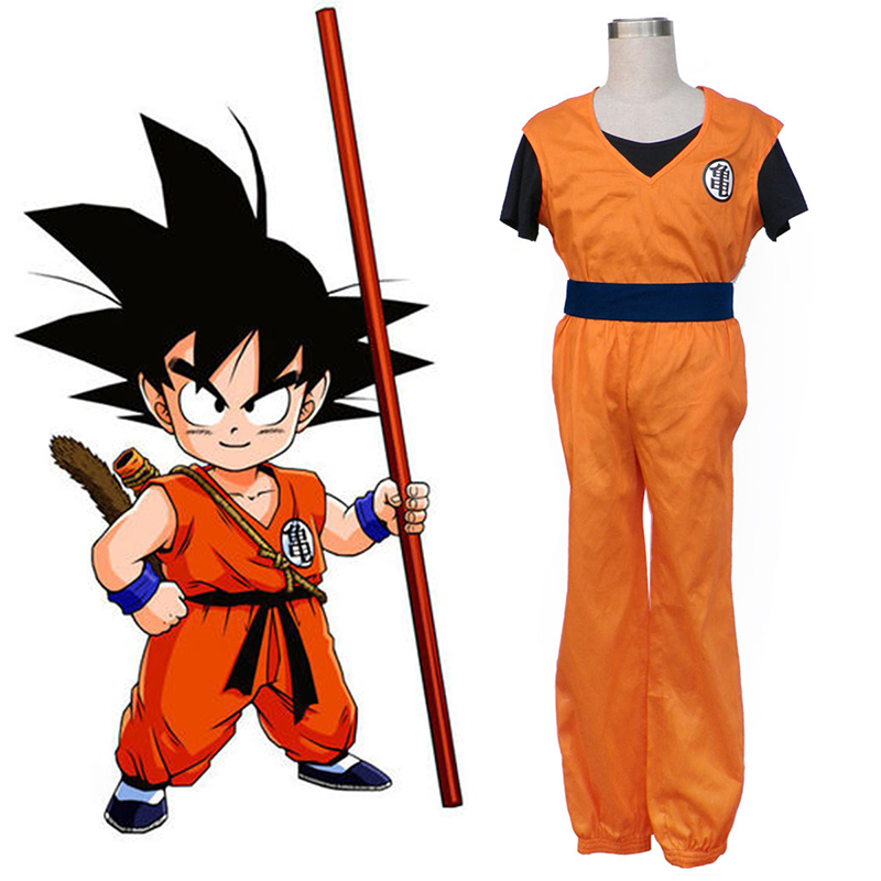 Dragon Ball Son Goku 1 Cosplay Costumes UK