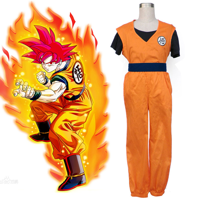 Dragon Ball Son Goku 2 Cosplay Costumes UK