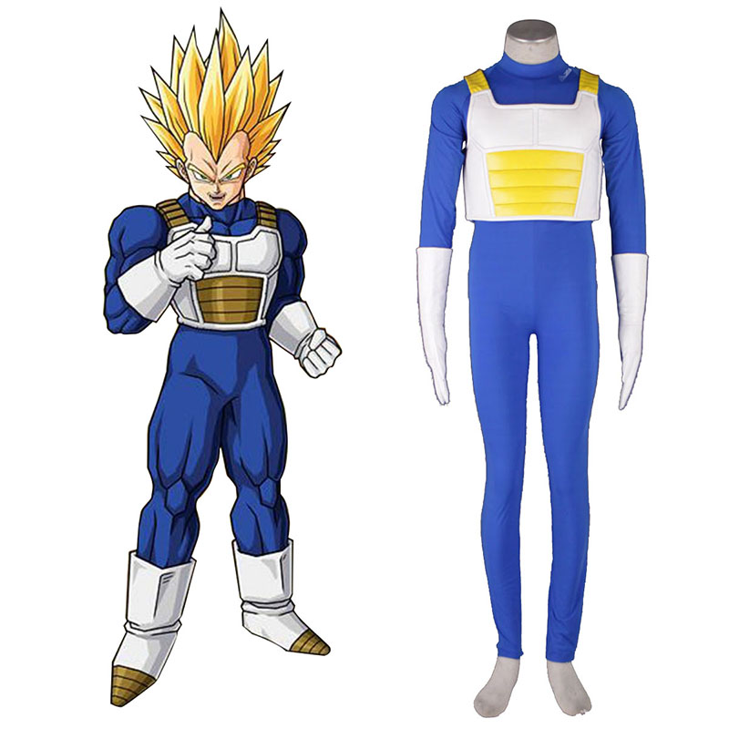 Dragon Ball Vegeta 3 Cosplay Costumes UK