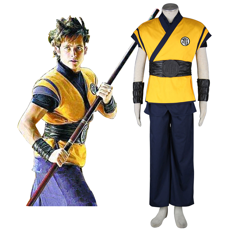 Dragon Ball Son Goku 3 Cosplay Costumes UK