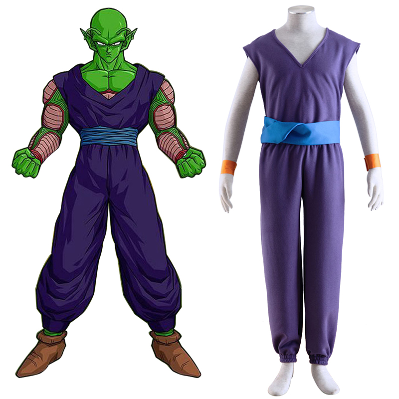 Dragon Ball Piccolo 1 Purple Cosplay Costumes UK