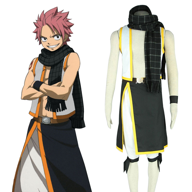 Fairy Tail Natsu Dragneel 2 Cosplay Costumes UK