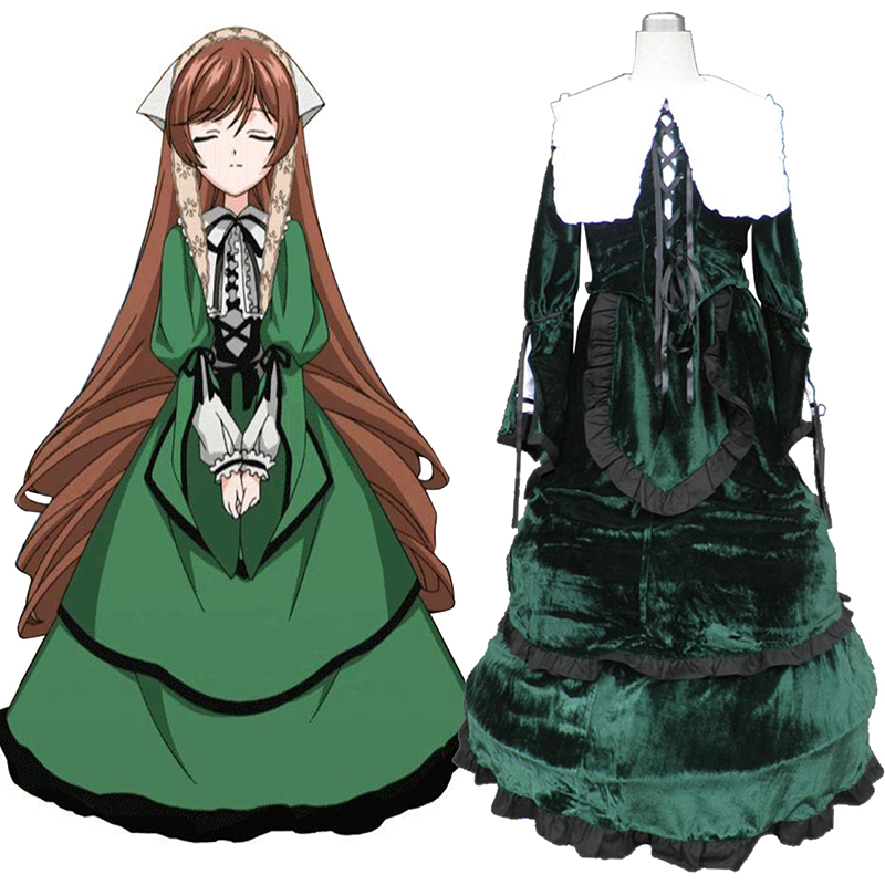 Rozen Maiden Suiseiseki Cosplay Costumes UK