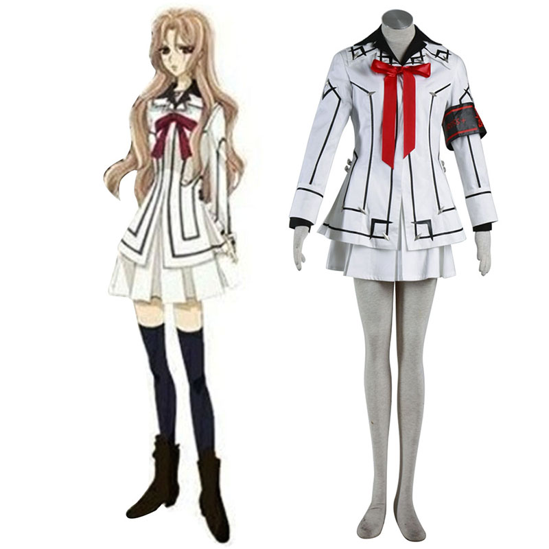 Vampire Knight Night Class White Female School Uniform Cosplay Costumes UK