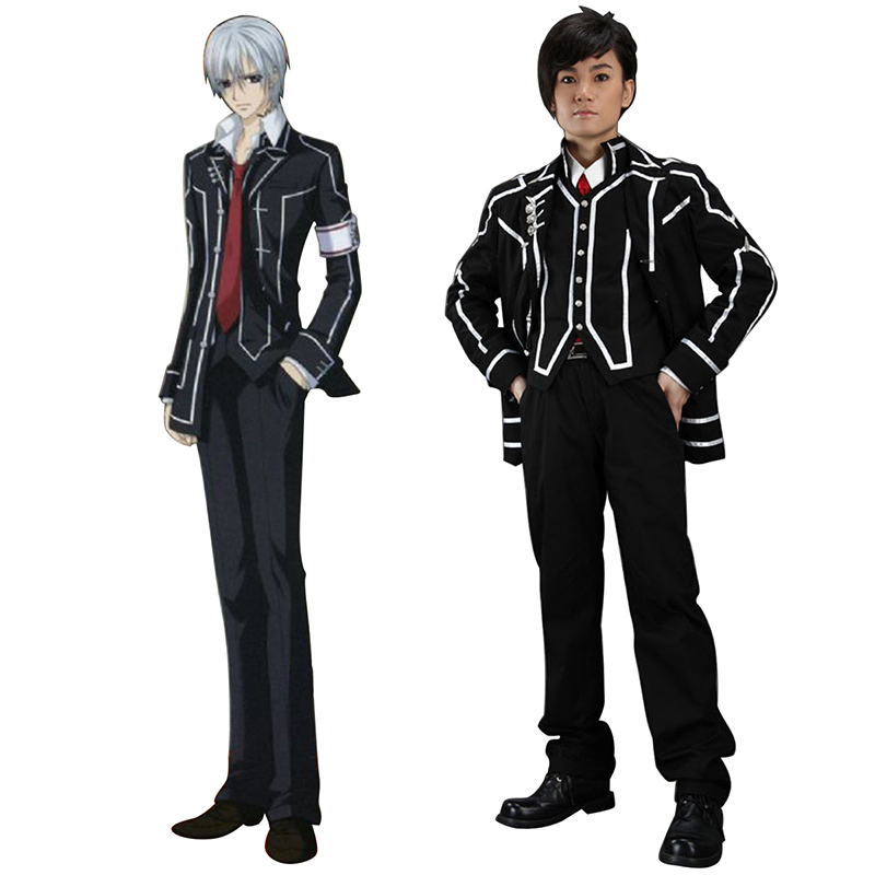 Vampire Knight Day Class Black Male School Uniform Cosplay Costumes UK