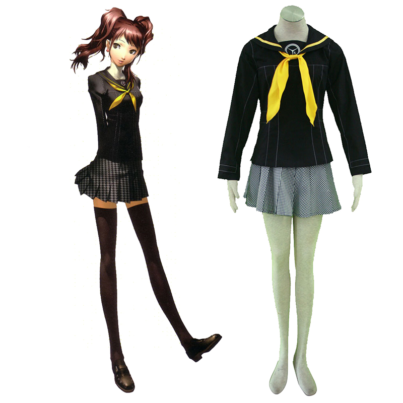 Shin Megami Tensei: Persona 4 Winter Female School Uniform Cosplay Costumes UK