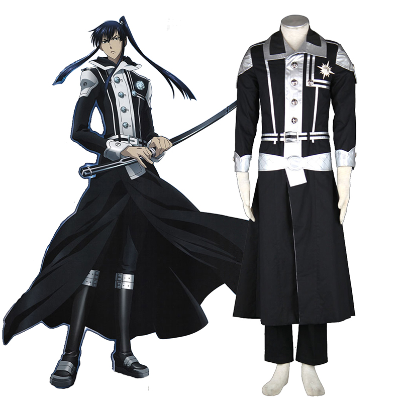 D.Gray-man Yu Kanda 1 Cosplay Costumes UK