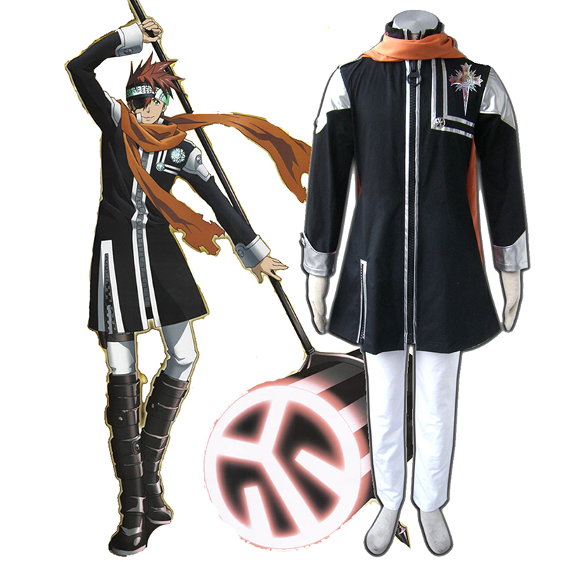 D.Gray-man Lavi 1 Cosplay Costumes UK