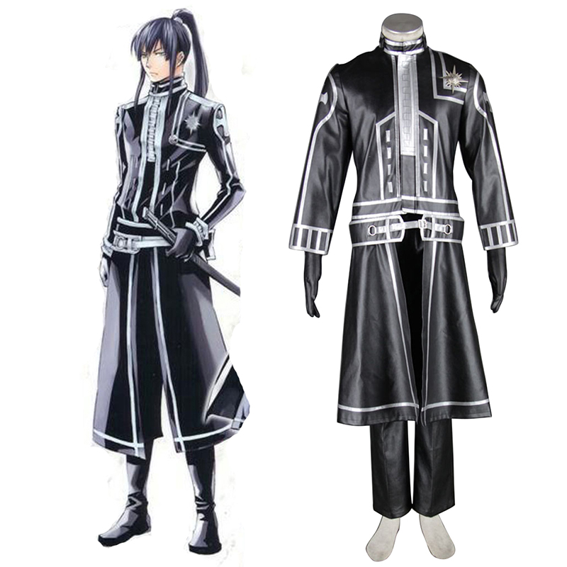 D.Gray-man Yu Kanda 2 Cosplay Costumes UK