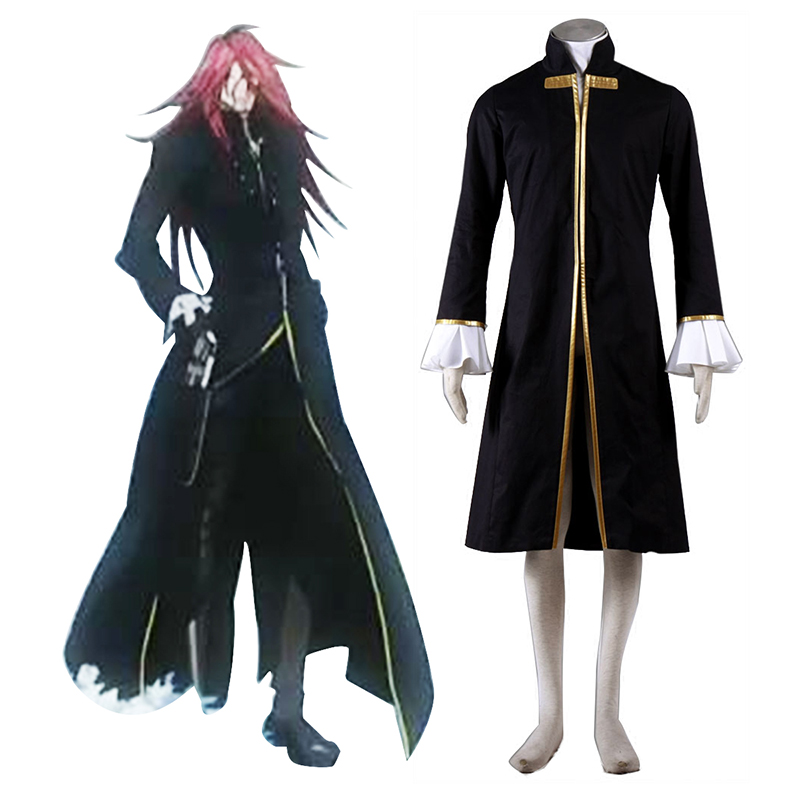 D.Gray-man Cross Maria 1 Cosplay Costumes UK
