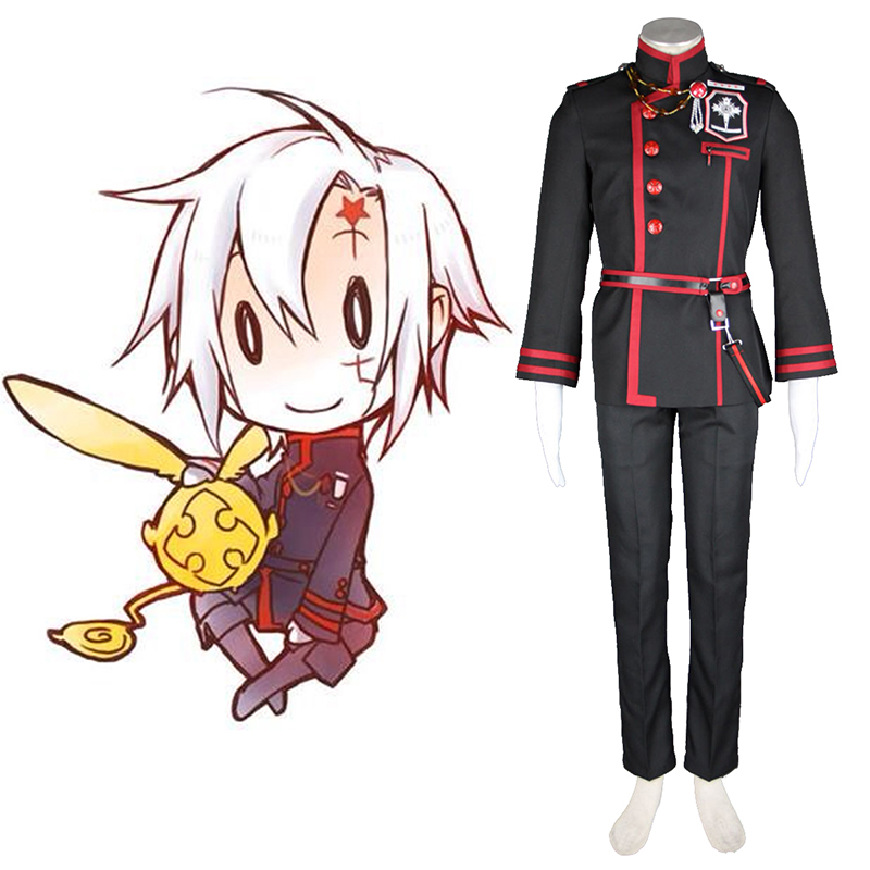 D.Gray-man Allen Walker 3 Cosplay Costumes UK