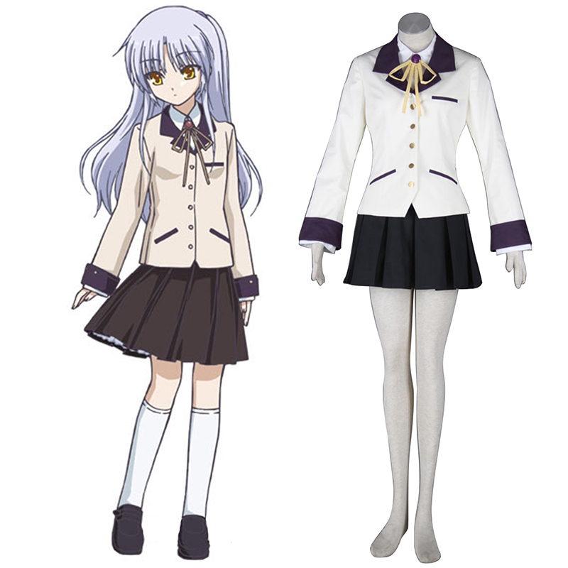 Angel Beats! Tachibana Kanade 1 Cosplay Costumes UK