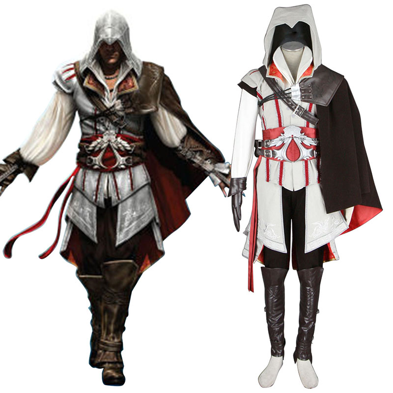 Assassins Creed II Assassin 2 Cosplay Costumes UK