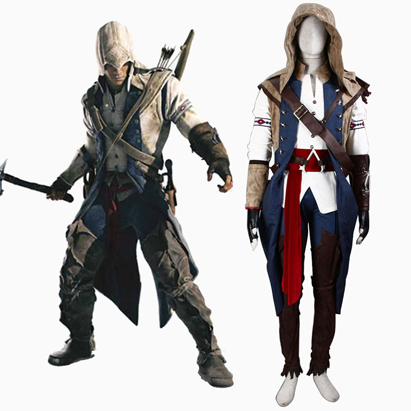 Assassin's Creed III Assassin 7 Cosplay Costumes UK
