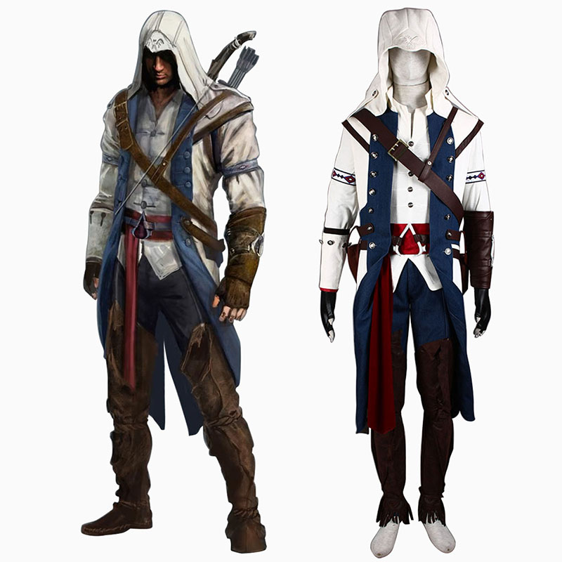 Assassin's Creed III Assassin 8 Cosplay Costumes UK