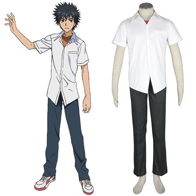 A Certain Magical Index Kamijou Touma 1 Cosplay Costumes UK
