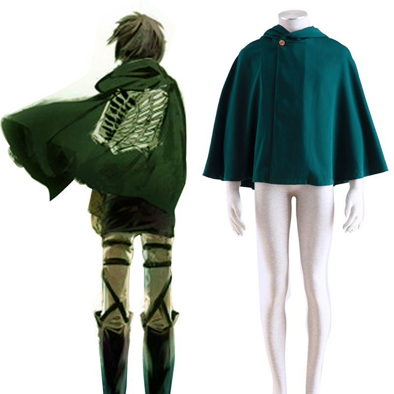 Attack on Titan Survey Corps Cloak 2 Cosplay Costumes UK