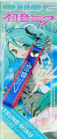 Card installed Hatsune Strap Diamond notes