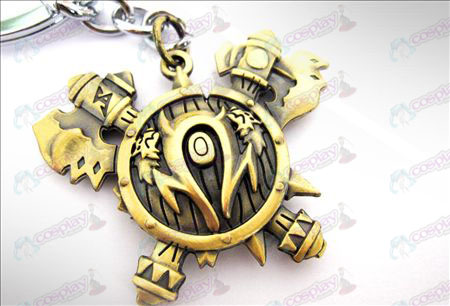 World of Warcraft Accessories Orcs Keychain