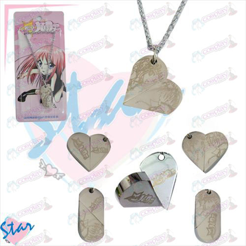 Star-Stealing Girl Accessories necklace heart-shaped transition