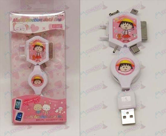 Multi Charging Cable (Chibi Maruko Chan Accessories)