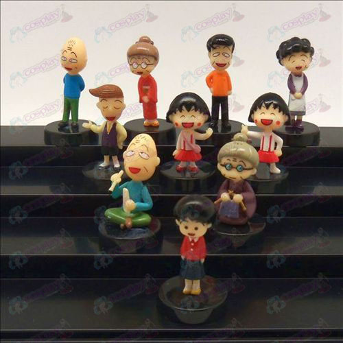 10 small balls doll cradle
