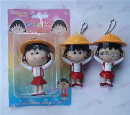 Big Chibi Maruko Chan Accessories face doll ornaments (a)