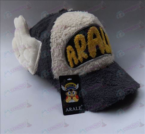 Ala plush hat (dark gray)