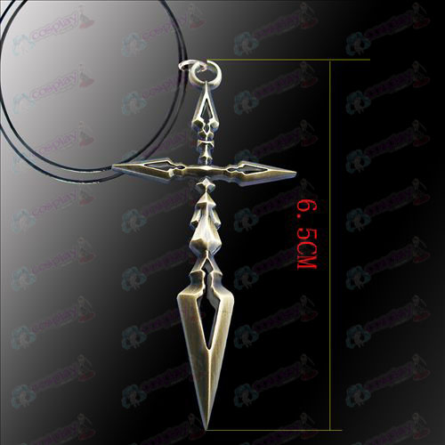 Steins; Gate Accessories Cross Necklace
