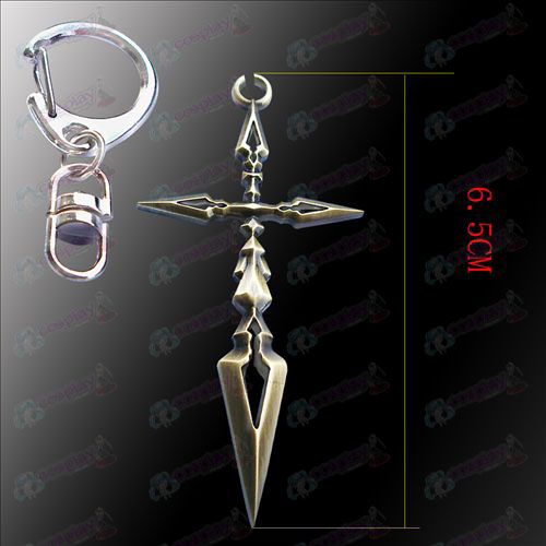 Steins; Gate Accessories crucifix hanging buckle