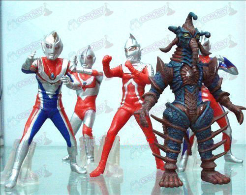 5 models Superman Ultraman Accessories Doll