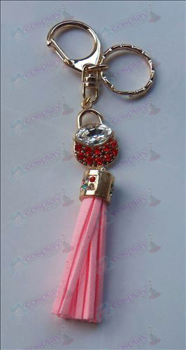 Fruits Basket Accessories Red Diamond Keychain