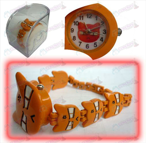 Fruits Basket Accessories A clip bracelet watch