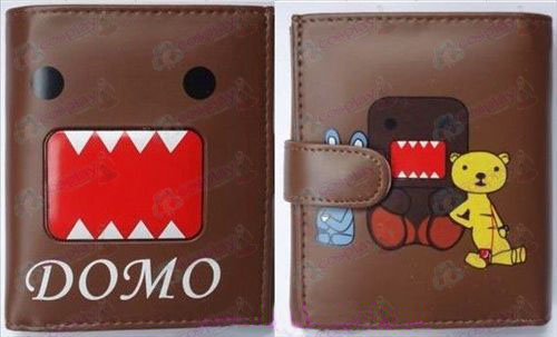 Q version of Domo Accessories bulk wallet (coffee)