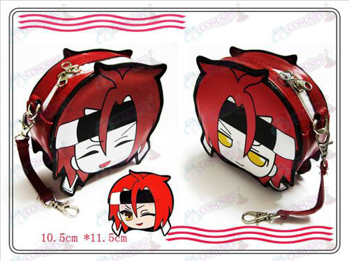 Hakuouki Accessories Harada left of the help Purse
