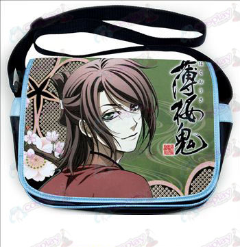 Hakuouki Accessories colored leather satchel 533