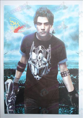 42 * 29 Jay embossed posters (8 / set)