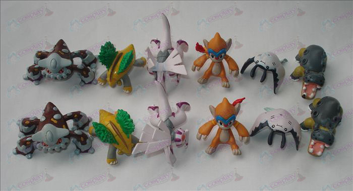 12 Pokemon Accessories (12 pcs / set)