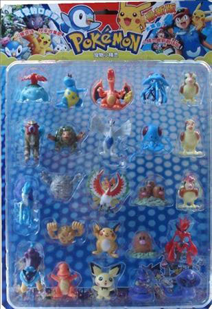 24, Pokemon Accessories Doll (Blister card)
