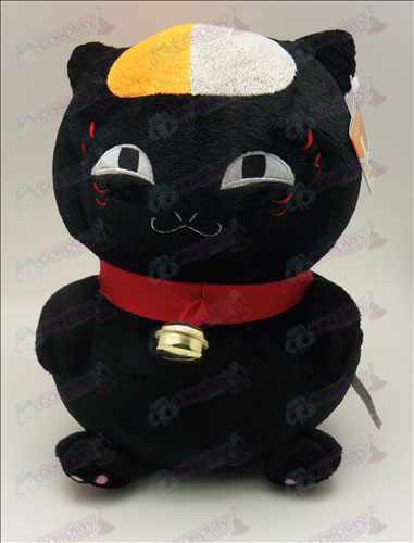 Natsume's Book of Friends Accessories sitting cat plush (black) 31cm