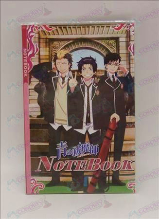 Blue Exorcist Accessories Notebook