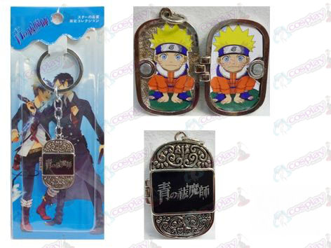 Blue Exorcist Accessories Photo Frame Keychain
