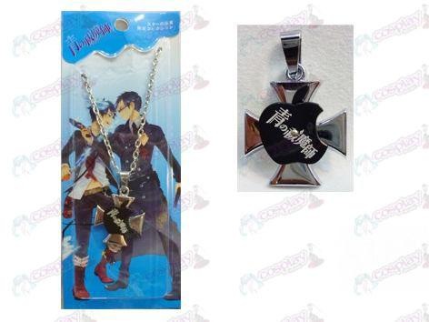 Blue Exorcist Accessories Apple Series 0 word necklace