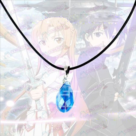 Sword Art Online Accessories Yui Heart Crystal Necklace