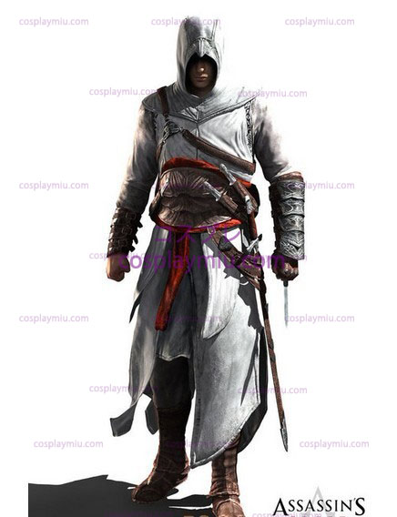 Assassin's Creed II Ezio Cosplay White Edition
