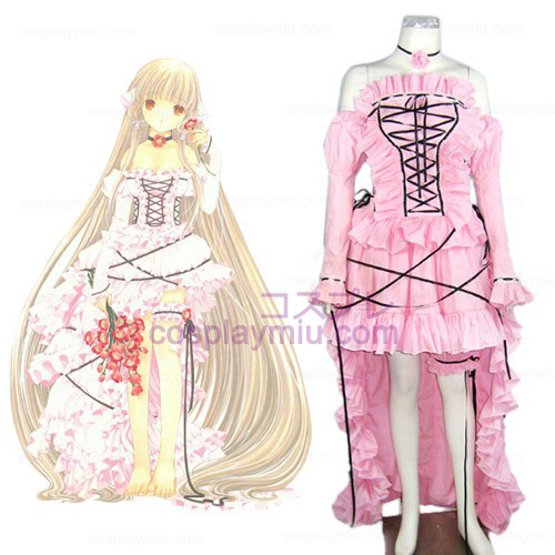 Chobits Chii Lolita Halloween Cosplay Costume