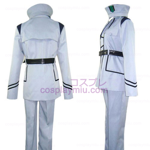 Hetalia Axis Powers Silver Uniform Cosplay Costume