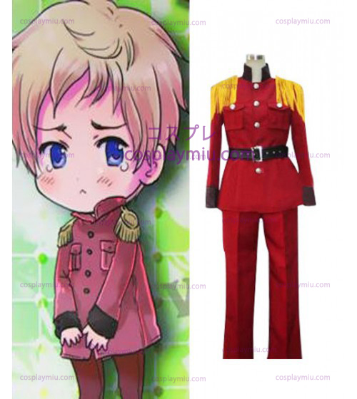 Hetalia: Axis Powers Latvia Halloween Red Cosplay Costume