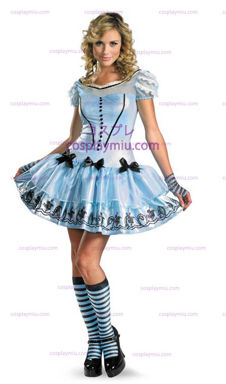 Sassy Blue Dress Alice Costume