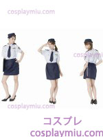 Intriguing Police Woman Adult Costume